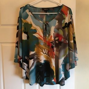 colorful butterfly top...